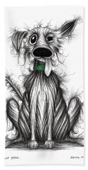 Smelly Dog Hand Towel