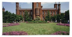 Smithsonian Institution Building Hand Towel
