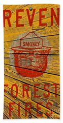 Smokey Hand Towel by David Lawson