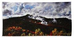 Smoky Mountain Angel Hair Hand Towel by Craig T Burgwardt
