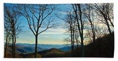 Smoky Mountain Splendor Hand Towel by Dee Dee  Whittle
