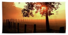 Smoky Mountain Sunrise Hand Towel