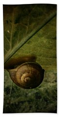 Snail Camp Hand Towel
