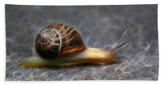 Snail Dreams Bath Towel