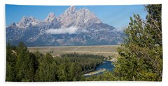 Snake River Overlook Bath Towel