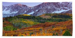 Sneffels Sunrise Bath Towel