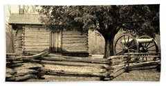 Snodgrass Cabin And Cannon Bath Towel