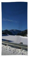 Snow Lake Hand Towel