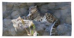 Snow Leopard    No.2 Bath Towel