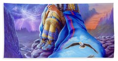 Soaring Spirit Hand Towel by Andrew Farley