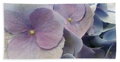 Hand Towel featuring the photograph Soft Hydrangea  by Caryl J Bohn