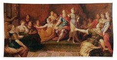 Solomon And His Women  Bath Towel