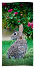 Some Bunny Loves You Hand Towel by Dee Dee  Whittle