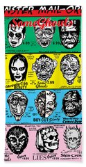 Hand Towel featuring the digital art Some Ghouls by Sasha Alexandre Keen