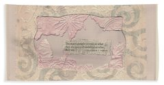 Hand Towel featuring the mixed media Some People Overvalue ... Quote Art by Sandra Foster