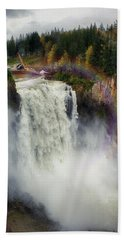 Somewhere Over The Falls Hand Towel