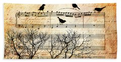 Songbirds Bath Towel