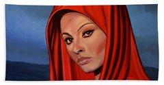 Sophia Loren 2  Bath Towel