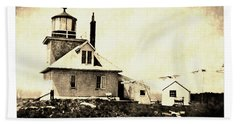 Southern Wolf Island Lighthouse Hand Towel