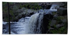 Southford Falls Hand Towel by Catherine Gagne
