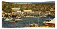 Southwest Harbor Hand Towel