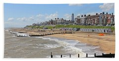 Southwold Beach 2 Hand Towel