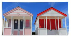 Southwold Beach Huts Bath Towel
