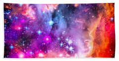 Space Image Small Magellanic Cloud Smc Galaxy Hand Towel