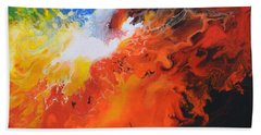 Spark Of Life Canvas Three Hand Towel