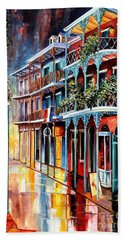 Sparkling French Quarter Hand Towel