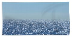 Bath Towel featuring the photograph Sparkling Ocean Atmosphere by Kristen Fox