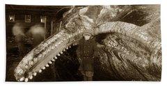 Sperm Whale Taken At Moss Landing California  On January 22 1919 Bath Towel