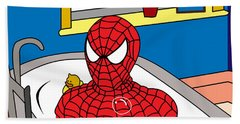 Spiderman  Hand Towel