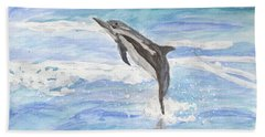 Spinner Dolphin Bath Towel