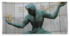 Spirit Of Detroit Hand Towel