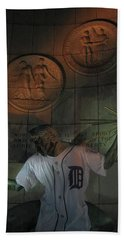 Spirit Of Detroit Tigers Hand Towel