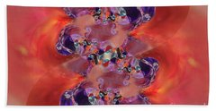 Hand Towel featuring the digital art Spiritual Dna by Margie Chapman