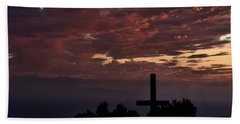 Hand Towel featuring the photograph Spiritual Retreat by Michael Gordon