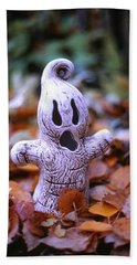 Spooky Autumn Bath Towel by Aaron Aldrich