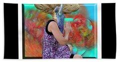 Spore Hand Towel by Betsy Knapp