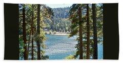 Spotted Lake - Scenic Photography - Lake Gregory California - Ai P. Nilson Hand Towel