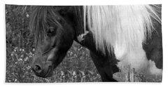 Spotted Pony Bath Towel by Joyce  Wasser