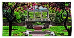 Bath Towel featuring the photograph Spring At Lynch Park by Mike Martin