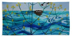 Spring On Lake Ontario Bath Towel