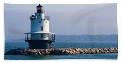 Spring Point Lighthouse Bath Towel