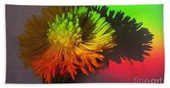 Spring Through A Rainbow Bath Towel by Martin Howard