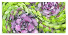 Spring Whirl Hand Towel