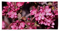 Hand Towel featuring the photograph Spring's Arrival by Roselynne Broussard