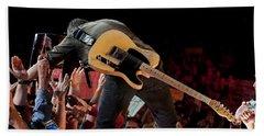 Springsteen In Charlotte Hand Towel
