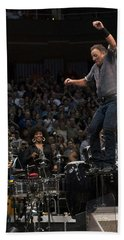 Springsteen In Motion Hand Towel